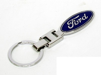 Breloc auto nou model pentru FORD detaliu metal + ambalaj  cadou