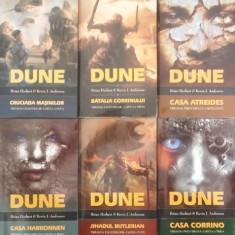 Dune: Trilogia Legendelor & Trilogia Preludiului - Brian Herbert & Kevin J. Anderson - Manusi moto