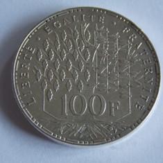 Moneda de argint 100 franci 1983 -609, Europa