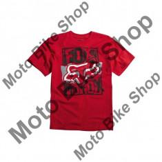 FOX KINDER T-SHIRT DATA OVERLOAD, red, KS, 15/036, Cod Produs: 09067003SAU