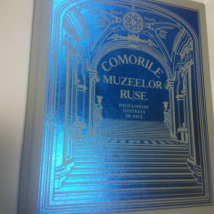 COMORILE MUZEELOR RUSE - Enciclopedie ilustrata de arta - Editura Roossa - Album Muzee