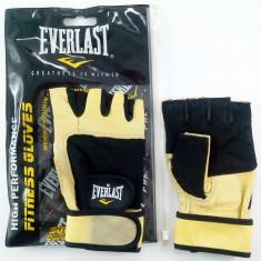 Manusi pentru fitness Everlast - din piele si nylon - marimea M - Echipament Fitness
