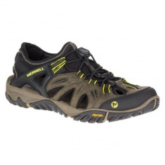 Pantofi de vara Merrell All Out Blaze Sieve Olive Night (MRL-J37691-OLIM) - Pantofi barbat Merrell, Marime: 40, 41, 42, 43, 44, 45, 46, Culoare: Verde