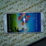 Vând Samsung s4 - Telefon mobil Samsung Galaxy S4, Alb, 16GB, Neblocat, Single SIM
