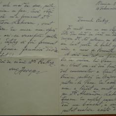Scrisoare Herescu catre Cerkez, Ramnicu Valcea, 1897, Take Ionescu, Filipescu - Autograf