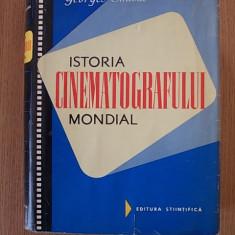 ISTORIA CINEMATOGRAFULUI MONDIAL- GEORGES SADOUL- cartonata, supracoperta - Carte Cinematografie