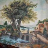Pictura ulei pe panza - Pictor roman, Peisaje, Realism