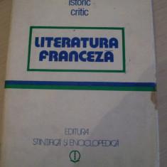DICTIONAR ISTORIC CRITIC LITERATURA FRANCEZA - Curs Limba Franceza