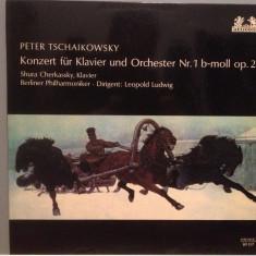TCHAIKOWSKY - CONCERT PIANO Nr 1- S.CHERKASSKY(1965/HELIODOR/RFG) - VINIL/Ca NOU - Muzica Clasica Altele