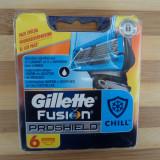 Rezerve de ras Gillette Fusion Proshield Chill proglide set de 6 buc. sigilate
