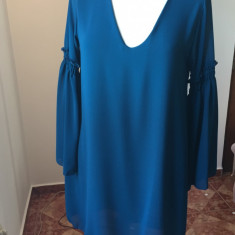 Rochii salopete haine dama, Marime: 38, Culoare: Albastru