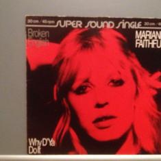 MARIANNE FAITHFULL - BROKEN ENGLISH (1979/ISLAND/RFG) - VINIL MaxiSingle/ca NOU - Muzica Rock universal records