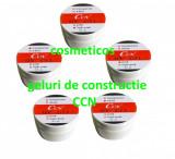 5 Geluri unghii uv CCN white/ transparent/ pink/cover  Gel constructie CCN