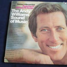 Andy Williams - The Andy Williams Sound Of Music _ dublu vinyl, 2 x LP, SUA - Muzica Pop Columbia, VINIL
