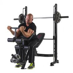 Vand aparat fitness multifunctional, bancuta piept, biceps, picioare - Aparat multifunctionale fitness