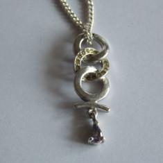 Lant de argint cu pandant -1216 - Lantisor argint