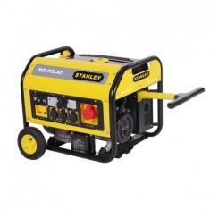 Generator 7500W Stanley SG 7500, 3600 rpm, 18 CP, 25 L, 439 cmc - Generator curent