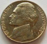 Moneda 5 Centi - SUA, anul 1980 *cod 4313, America de Nord