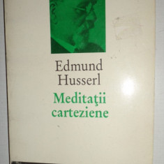 MEDITATII CARTEZIENE AN 1994/245PAGINI= EDMUND HUSSERL