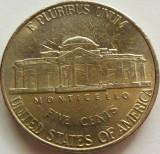 Moneda 5 Centi - SUA, anul 2000 *cod 4325 Litera P, America de Nord