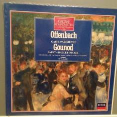 OFFENBACH/GOUNOD - FAUST/GAITE PARISIENNE (1961/DECCA/HOLLAND) -VINIL/Ca NOU/RAR - Muzica Clasica decca classics