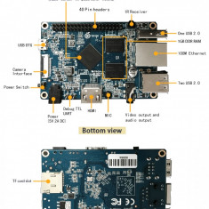 Placa dezvoltare Orange Pi Zero H2 Quad Core Open-source 512MB android