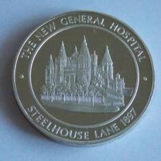 Medalie argint Anglia -1779-1979 (543), Europa