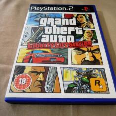 GTA, Grand Theft Auto Liberty City Stories, PS2, original, alte sute de jocuri! - Jocuri PS2 Rockstar Games, Actiune, 16+, Single player
