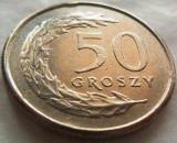 Moneda 50 Groszy - POLONIA, anul 1995 *cod 3693, Europa