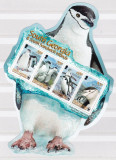Georgia de Sud  2008  fauna  pinguini  MI  bl.18  MNH  w40, Nestampilat
