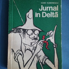 Jurnal in Delta - Ioan Dumitrescu /desene Matty / R5P2S