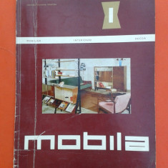 REVISTA MOBILA Nr.1/1964 - Revista casa