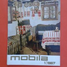REVISTA MOBILA Nr.1/1967 - Revista casa