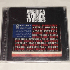 Vand cd AMERICA:A tribute to heroes - Muzica Pop sony music