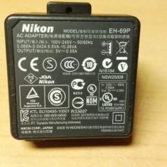 Alimentator Nikon 5V 0, 55A EH-69P - Incarcator Aparat Foto
