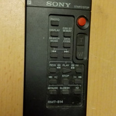 Telecomanda Camera Video Sony RMT-814