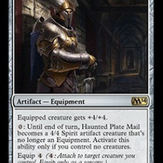 MTG Haunted Plate Mail - Colectii