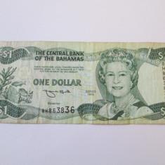 BAHAMAS 1 DOLLAR 1996 - bancnota america