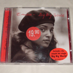 Vand cd EMILIA-Big big world - Muzica Pop universal records