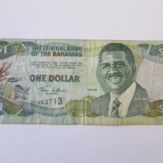 BAHAMAS 1 DOLLAR 2001 - bancnota america