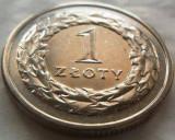 Moneda 1 Zlot - POLONIA, anul 1993 *cod 3695, Europa