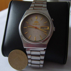 Ceas barbatesc ORIENT Crystal Mecanic 21 Jewels Automatic, Casual, Mecanic-Automatic, Analog, 2000 - prezent