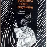 ION BANUTA-PANORAMA IUBIRII ZUGRAVULUI(VERSURI 1974)[coperta/desene FLORIN PUCA] - Carte poezie