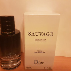 PARFUM TESTER DIOR SAUVAGE 100ML - Parfum barbati Christian Dior, 40 ml