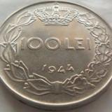 Moneda 100 Lei - ROMANIA, anul 1944 *cod 3694 (calitate) - Moneda Romania