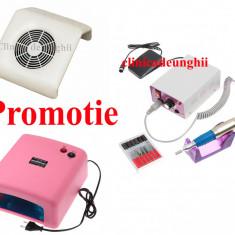 Ki unghii Gel-Aparatura-Lampa UV 36w-Pila Electrica 20.000-Aspirator-Garantie - Unghii false BeautyUkCosmetics
