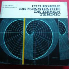 E.Diaconescu si Al.Constantinescu - Culegere de Standarde de Desen Tehnic -1981