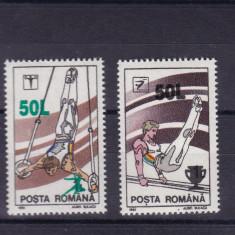 ROMANIA 1998, LP 1465, GIMNASTICA SUPRATIPAR SERIE MNH - Timbre Romania, Nestampilat
