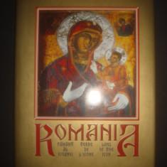 ROMANIA PAMANT AL ICOANEI * ALBUM CU ICOANE ROMANESTI
