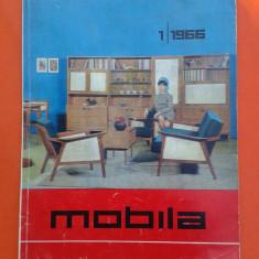 REVISTA MOBILA Nr.1/1966 - Revista casa